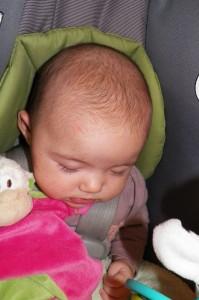 Baby head fuzz