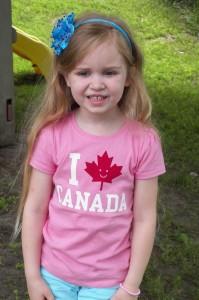 Canadian shirt thanks to Karyn!