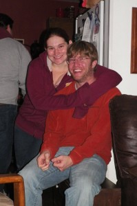 Ken's cousin Angie and her boyfriend