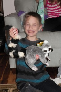 Gavin and the much requested Ring Tailed Lemur