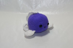 Cuteness the Fish. What I love about this one is it makes up so .... CUTE. She is for sale on my Facebook page