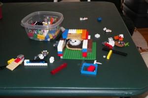 S'more Legos