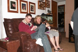 Ken and Aunty Judy on Puzzle Dragons