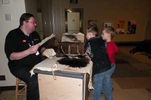 Learning all about how the Native Americans utilized the bison.
