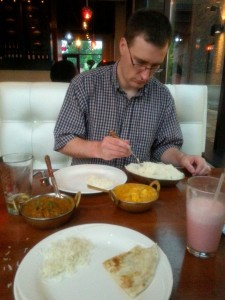 Indian food on recommendation of Shandai... AMAZING