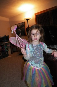 Fairies DO exist in our house!