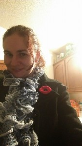Lest We Forget! The Red Poppy! Sadly this one went missing. I need to get some imported!