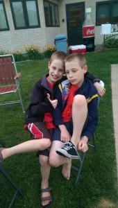 Gavin and Zander