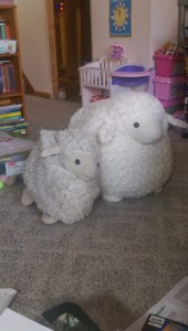 Hello Cookie meet your predecessor Fat Sheep and live in fear of the love of Echo!