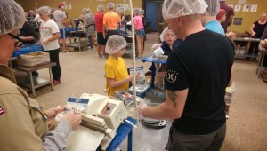 Feeding the Starving Children with Scouts