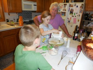 Baking with Nana