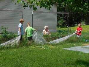 Gardening with Nana