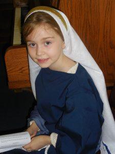 Trinity as Mary