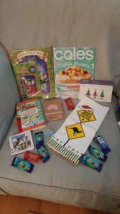 My Christmas exchange mailing... straight from Australia!!!