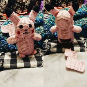 Pink Pikachu as requested for Echo.