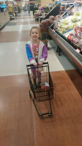 Grocery shopping!