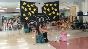 Dancing solo with Miss Grace