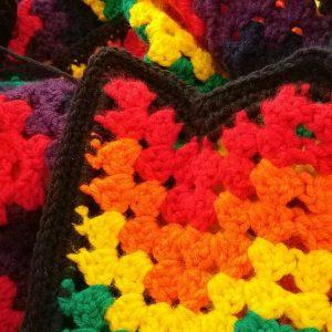 Rainbow blanket for me!