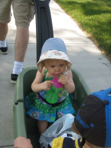 Note the Bonnet Made by Grandma Anna!