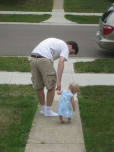 Daddy and His Davine Little Girl