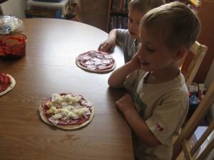 Zander's Personal Pizza