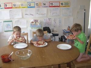 Mmmm Delish! Zander, Gavin and Emanuel
