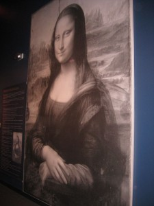 Giant Mona Lisa