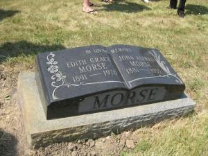 Great Grandma and Great Grandpa Morse