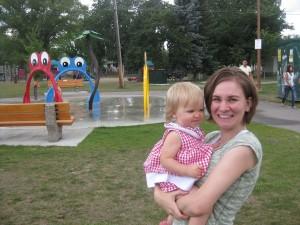 At Prince Charles Park