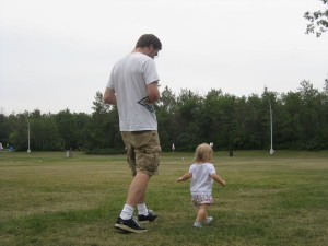 Daddy and His Little Girl