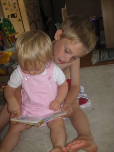 Storytime with Big Brother Zander