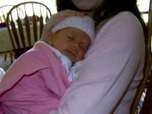 Baby Catherine Davey! 2005