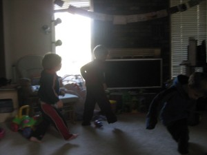 Caught Up In the Dance! (Gavin middle)