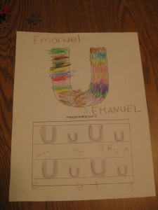 All the Little Individual Letters are Emanuel's