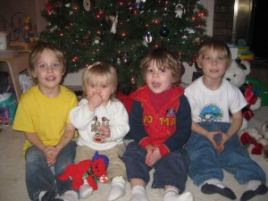 Gavin, Trinity, Emanuel and Zander
