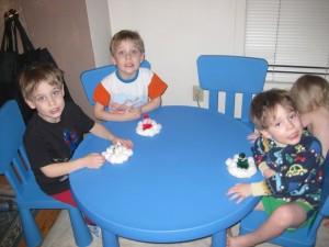 Snowmen! (Gavin middle)