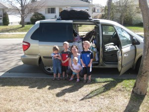 2009's Minnesota Odyssey packed and ready to go (Gavin red)