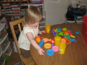 Queen of the Play Doh
