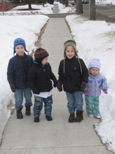 Zander, Emanuel, Gavin and Trinity... Gifts From a Higher Power (and not the government HAH)